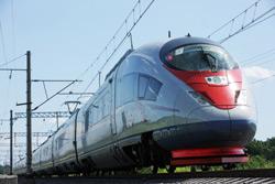Velaro RUS - скоростной поезд для России компании Siemens