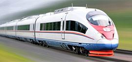 САПСАН - скоростной поезд Москва - Санкт-Петербург