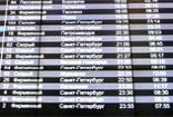 Расписание движения поезда Сапсан